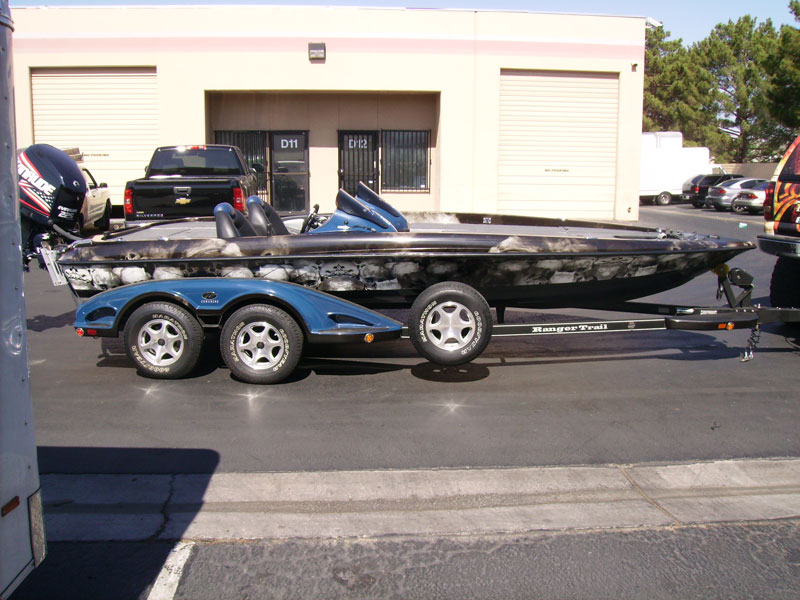 Ranger Comanche Z71 Boat Wrap Designed By Geckowraps In
