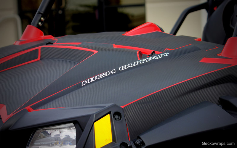 Carbon FX Textured Carbon Fiber RZR Graphit Kit