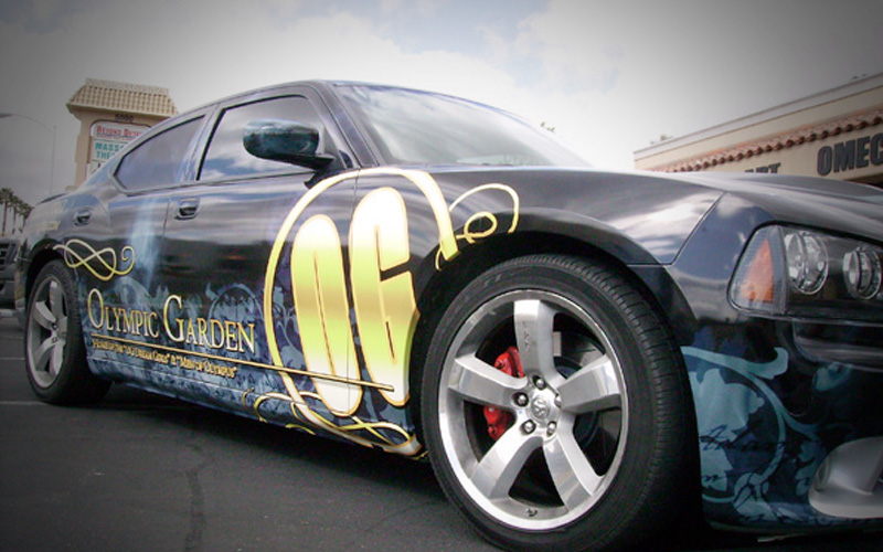 Chrysler 300 Car Wrap