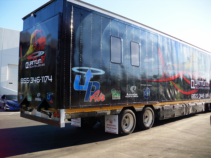 Quantum IR Technologies Best Trailer Wrap
