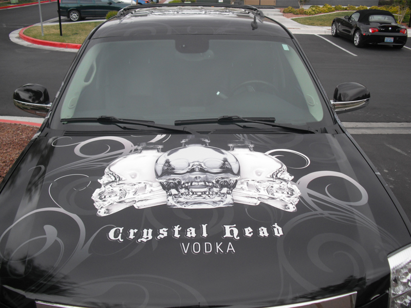 Crystal Head Vodka las vegas Wrap