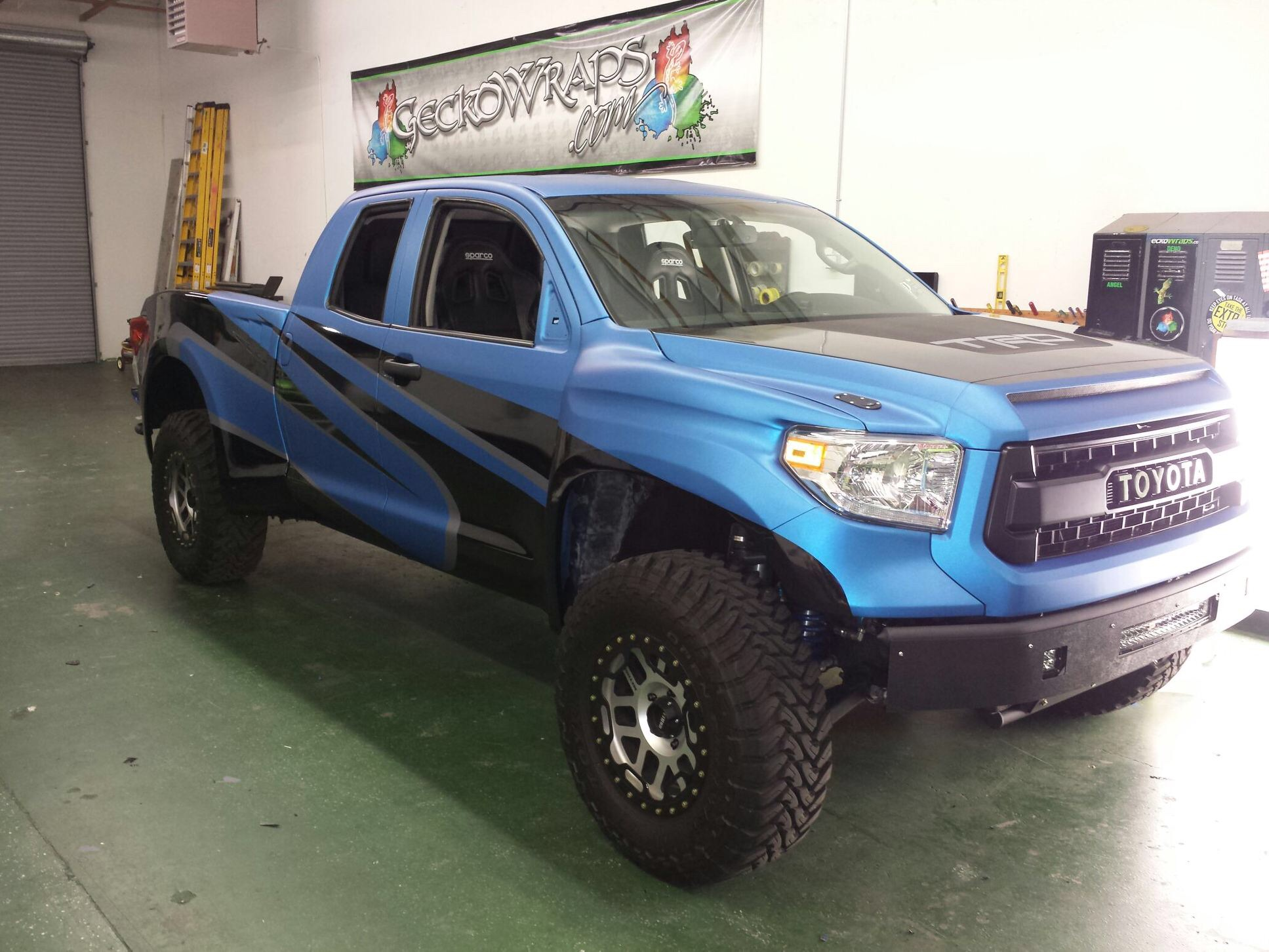 Geckowraps Truck Wrap Las Vegas Color Change Vehicle Wraps