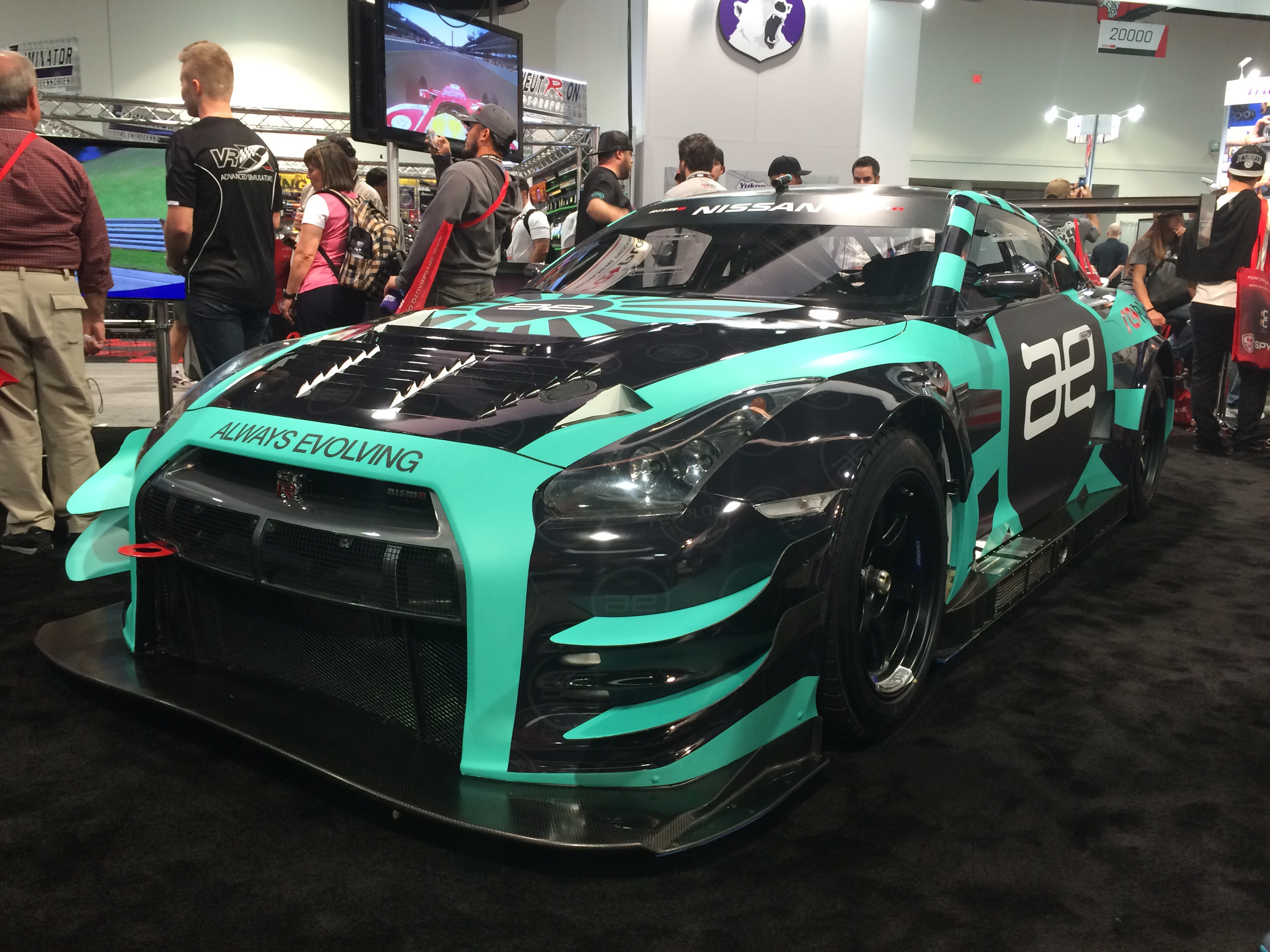 Gtr Vehicle Wrap Las Vegas Car Wraps For Sema