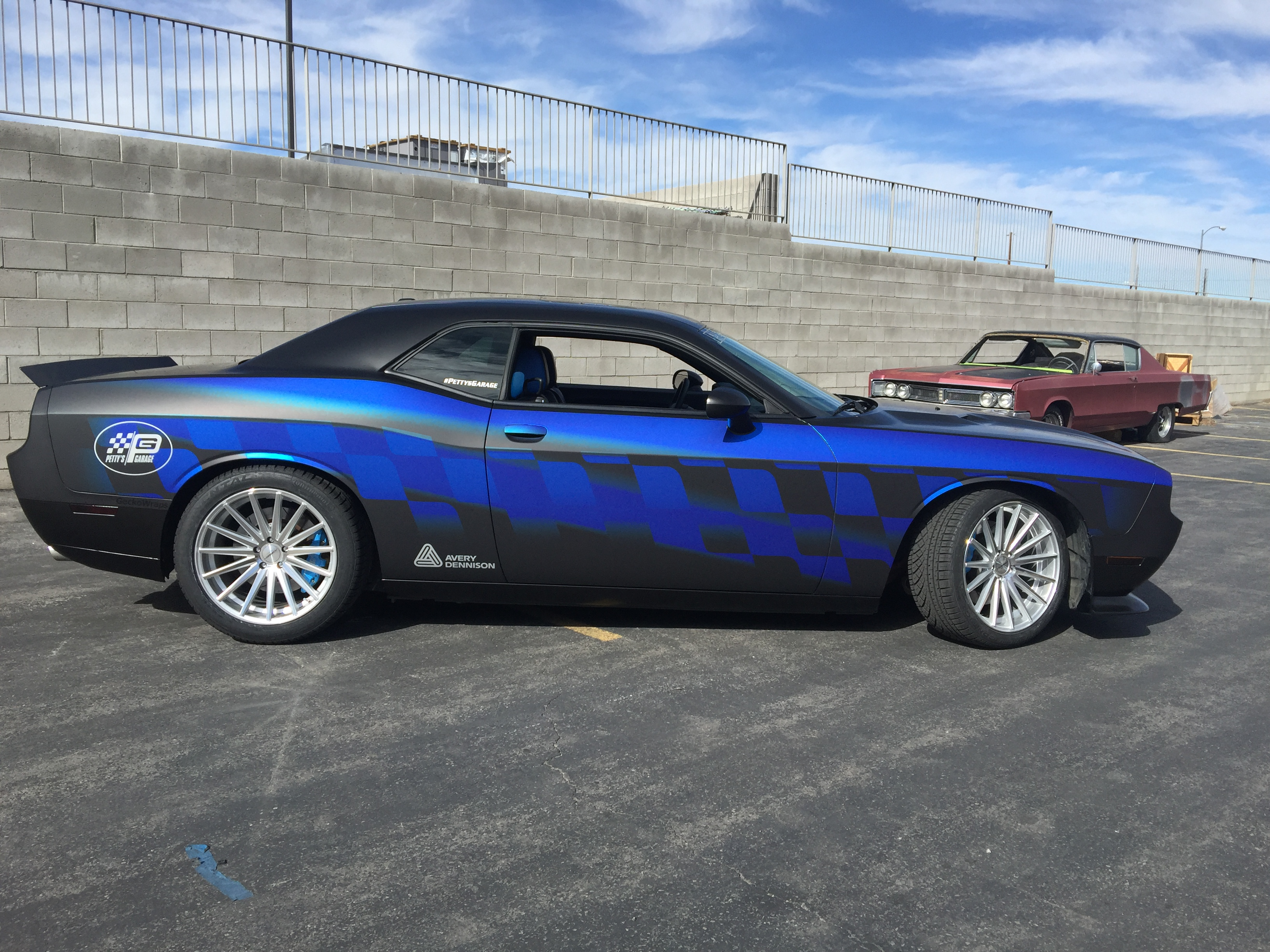 Printed Chrome Matte Wrap Geckowraps Las Vegas Vehicle Wraps