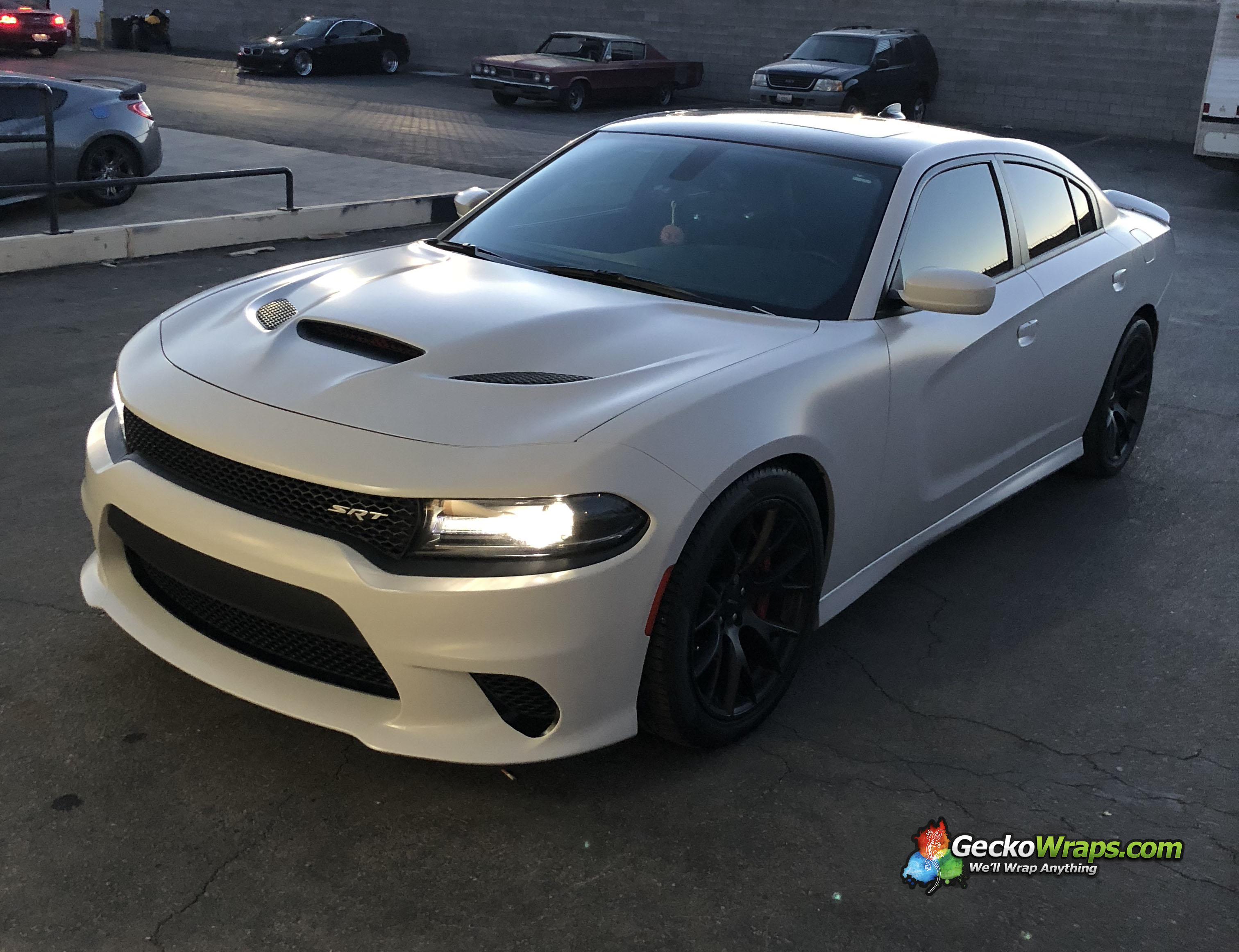 2017 Dodge Charger SRT Hellcat - Matte Nardo Grey ...