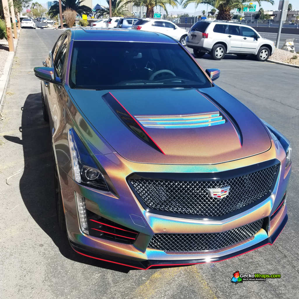 2017 Cadillac Cts V Designed And Installed By Geckowraps
