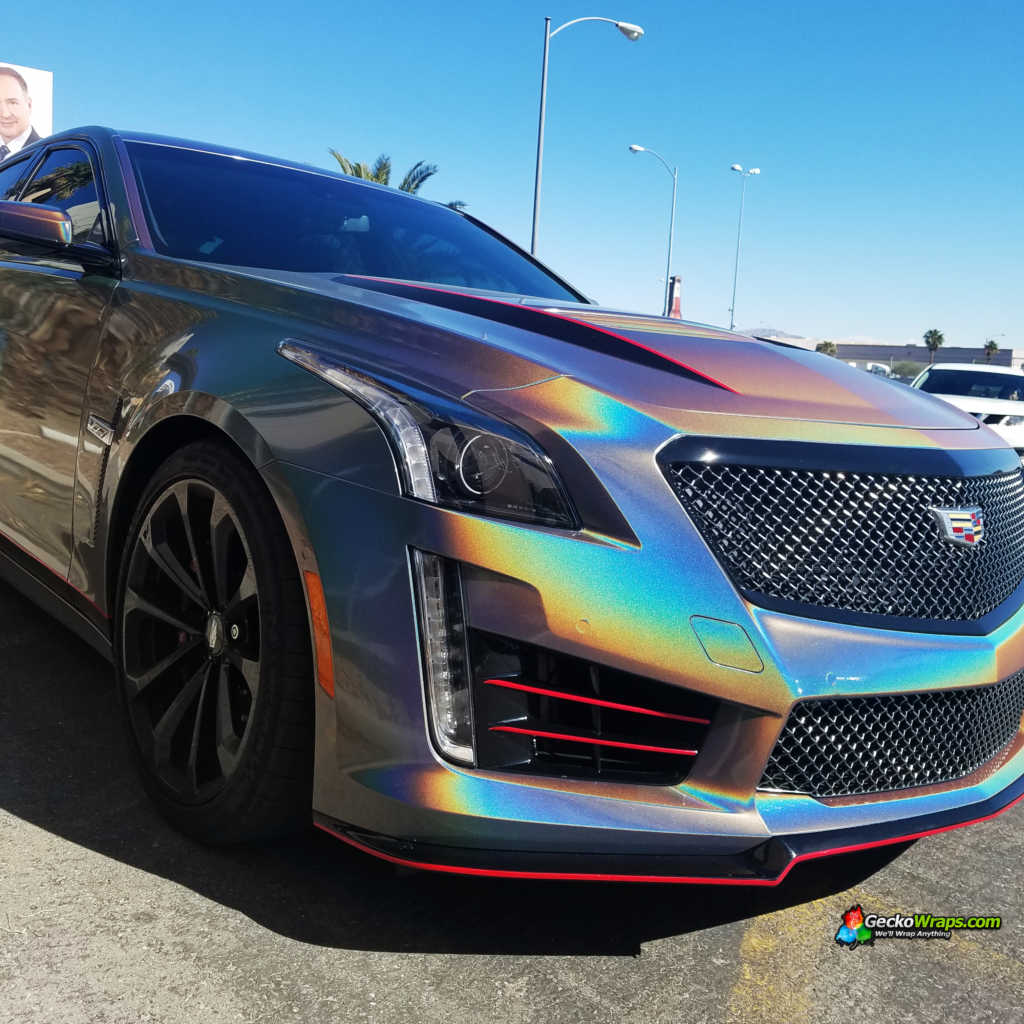 Jeep Las Vegas >> 2017 Cadillac CTS-V - GeckoWraps Las Vegas Vehicle Wraps & Graphics
