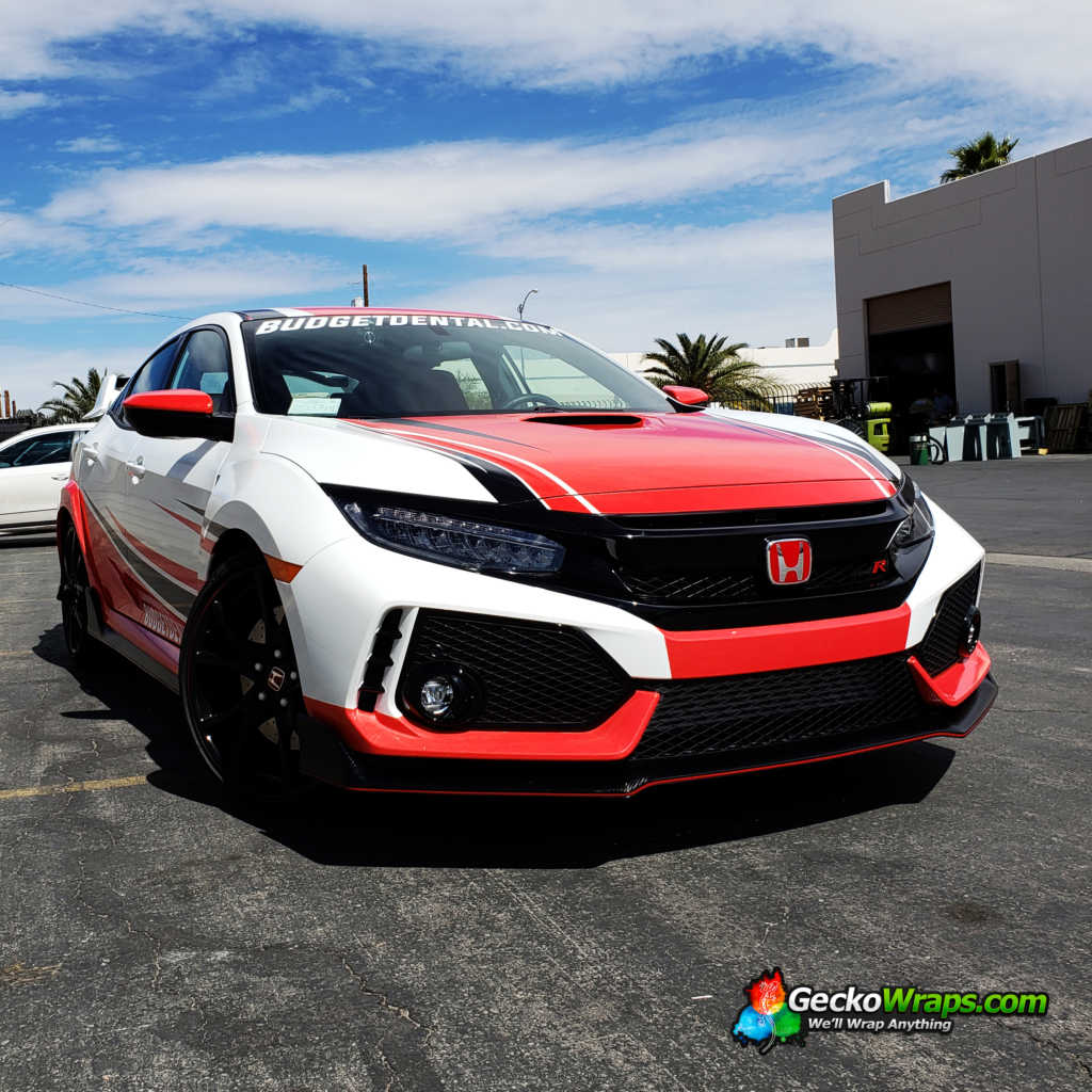 2018 Honda Civic Type R Geckowraps Las Vegas Vehicle