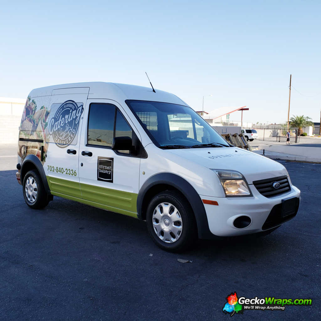Full Wrap On This 2009 Ford Transit Connect By Geckowraps